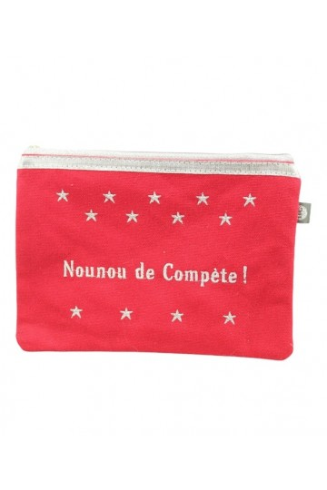 "Pochette  ""Nounou de Compète"""