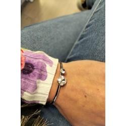 Bracelet Belle - Acier&Cristal